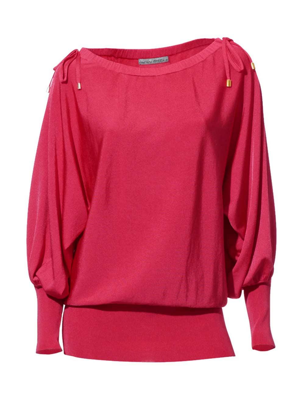 006.880 ASHLEY BROOKE Damen Designer-Pullover Pink