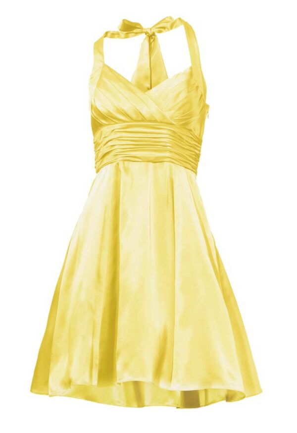 089.945 Cocktailkleid m. Petticoat, gelb von Ashley Brooke event Grösse 34