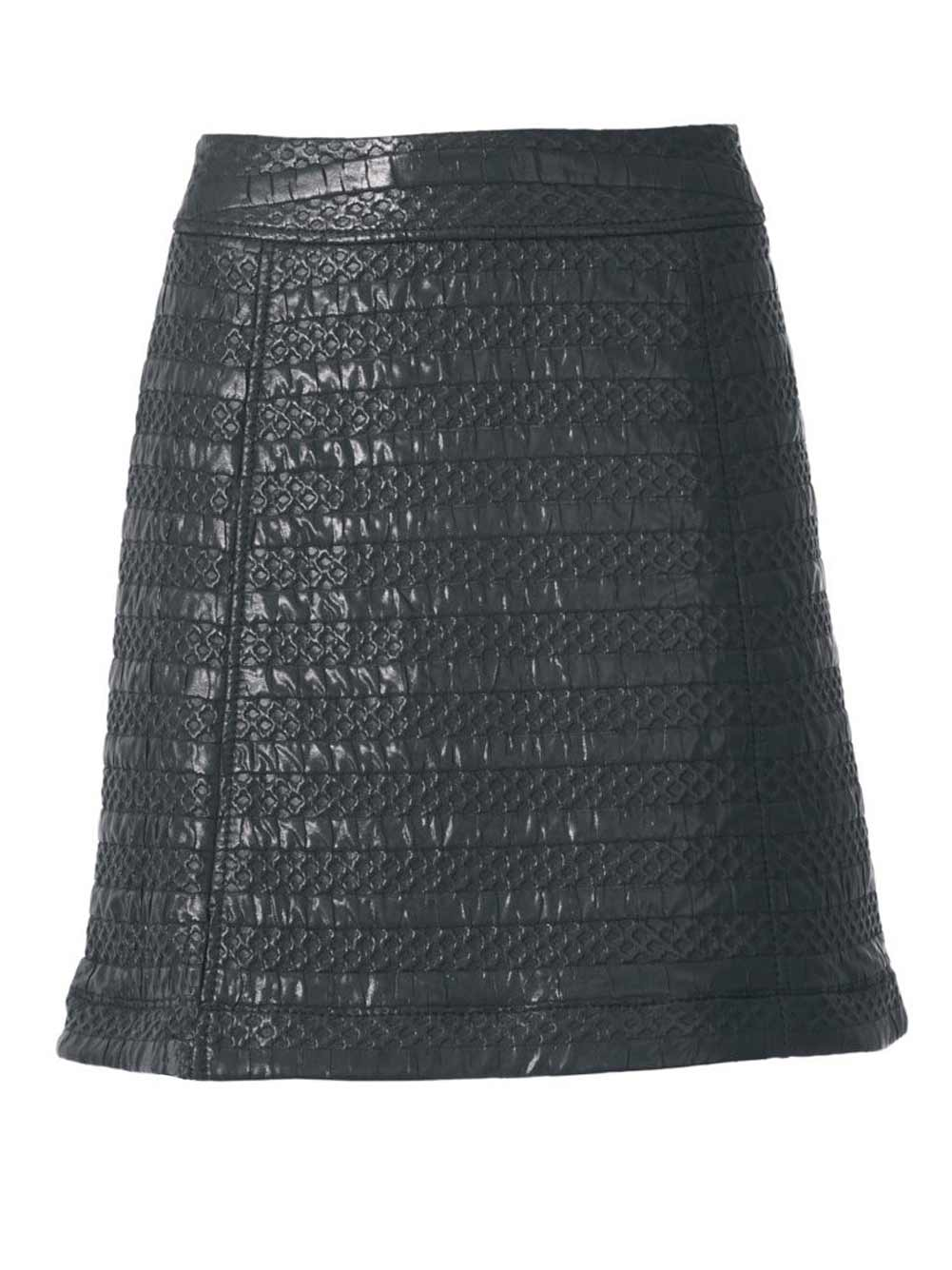 104.560 RICK CARDONA Damen Designer-Minirock Schwarz