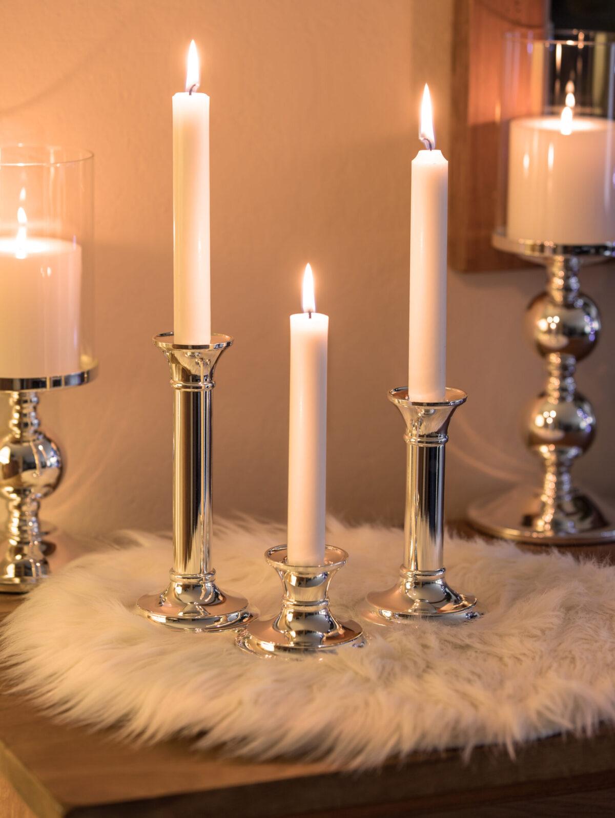 1101 Kerzenleuchter Fiona für Stabkerze Höhe18 cm