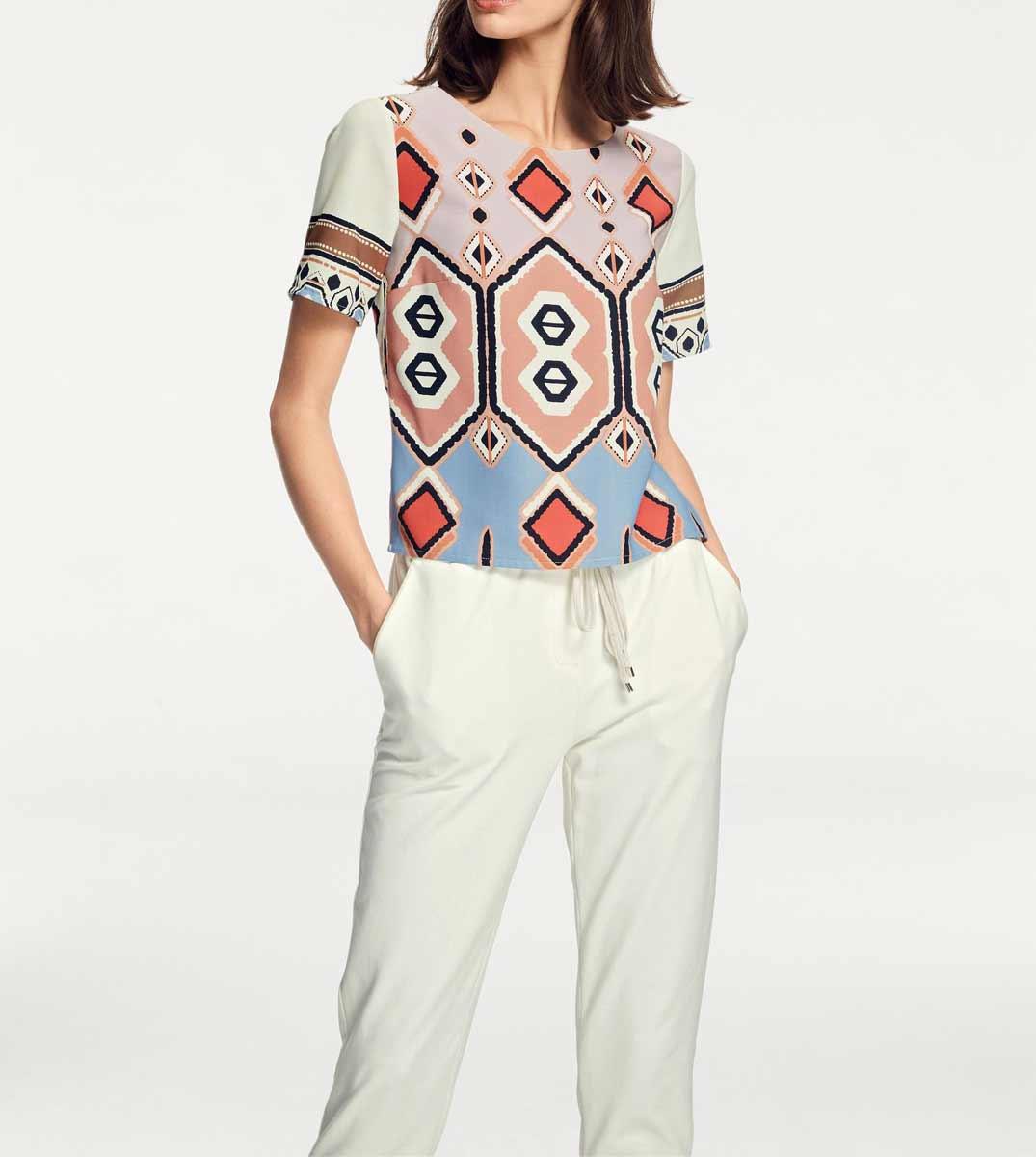 139.991 RICK CARDONA Damen Designer-Blusenshirt Bunt