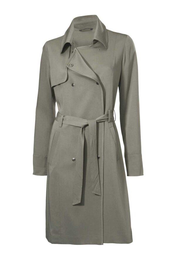 193.606 HEINE Damen Designer-Trenchcoat schilfgrün