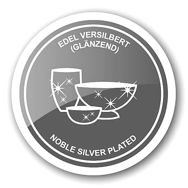 1801 Edzard Flaschenverschluss Weinverschluss Korken Ente Silber Versilbert Edel