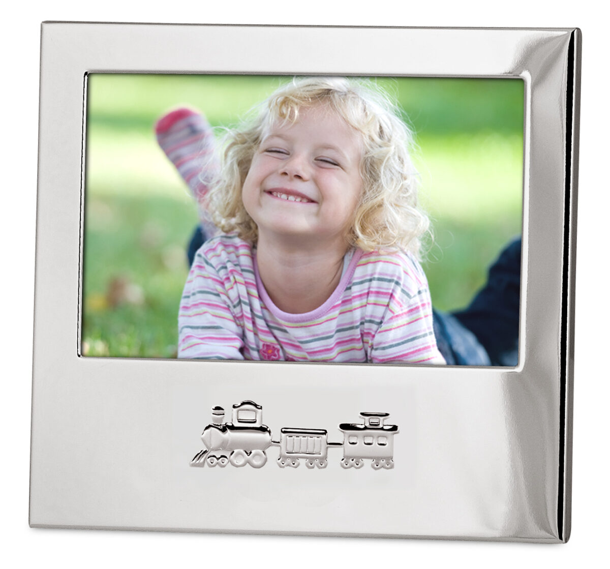 1647 Kinder Fotorahmen Eisenbahn für Foto 10 x 15 cm quer