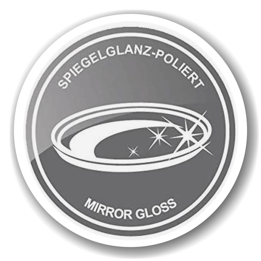 8944 Schale Dekoschale Dallas, Edelstahl gehämmert hochglanzpoliert, 30 x 18 cm