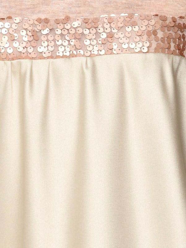 162.618 LINEA TESINI Damen Designer-Patchshirt Rosé-Melange