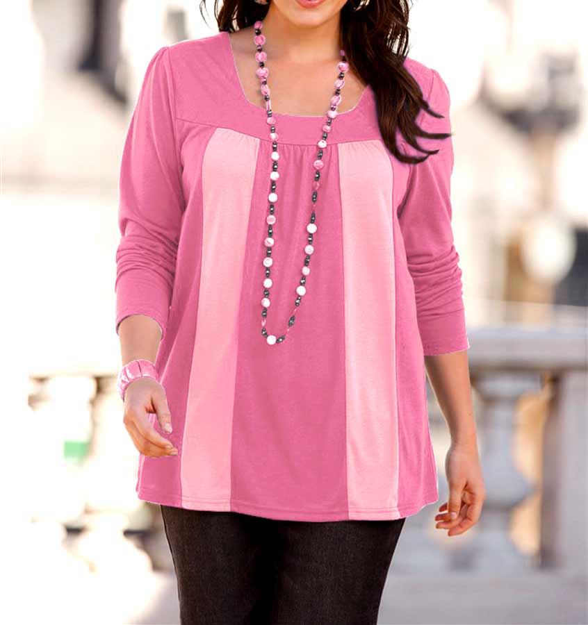 208.924 SHEEGO Damen-Shirt Pink-Rose