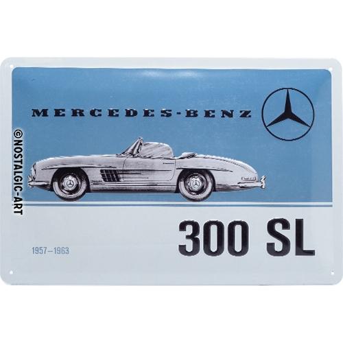 Nostalgic-Art - Blechschild 20 x 30cm - Mercedes-Benz - 300 SL
