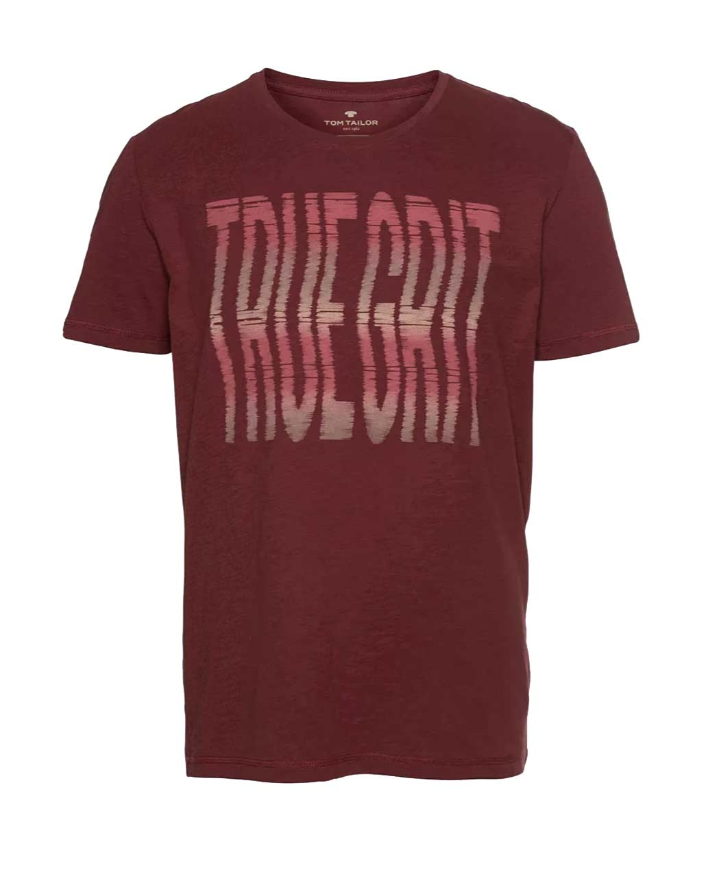 330.872 Herren-Shirt, dunkelrot von Tom Tailor Grösse M