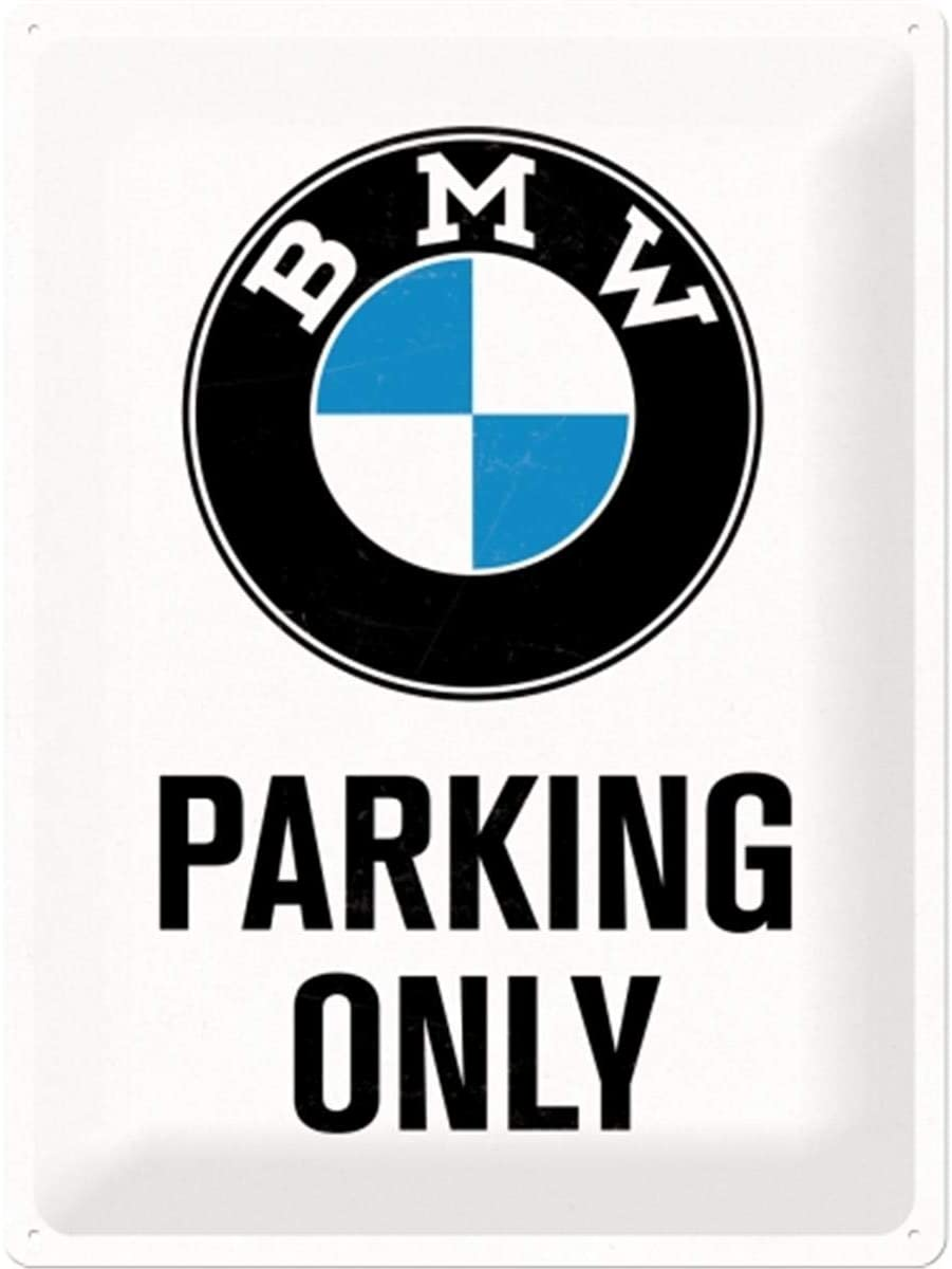 BMW - Parking Only White