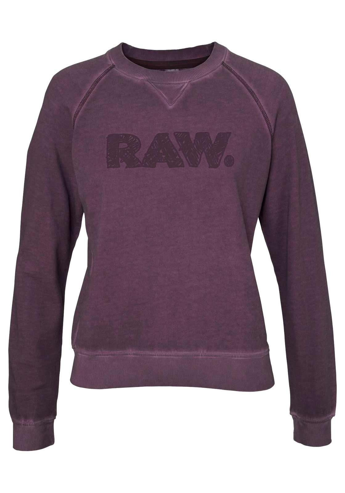 845.884 G-STAR RAW Sweatshirt bordeaux-used