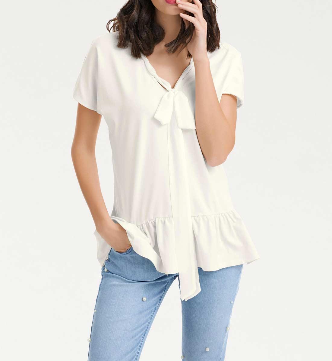 983.867 Shirt, offwhite von HEINE - Best Connections Grösse 34