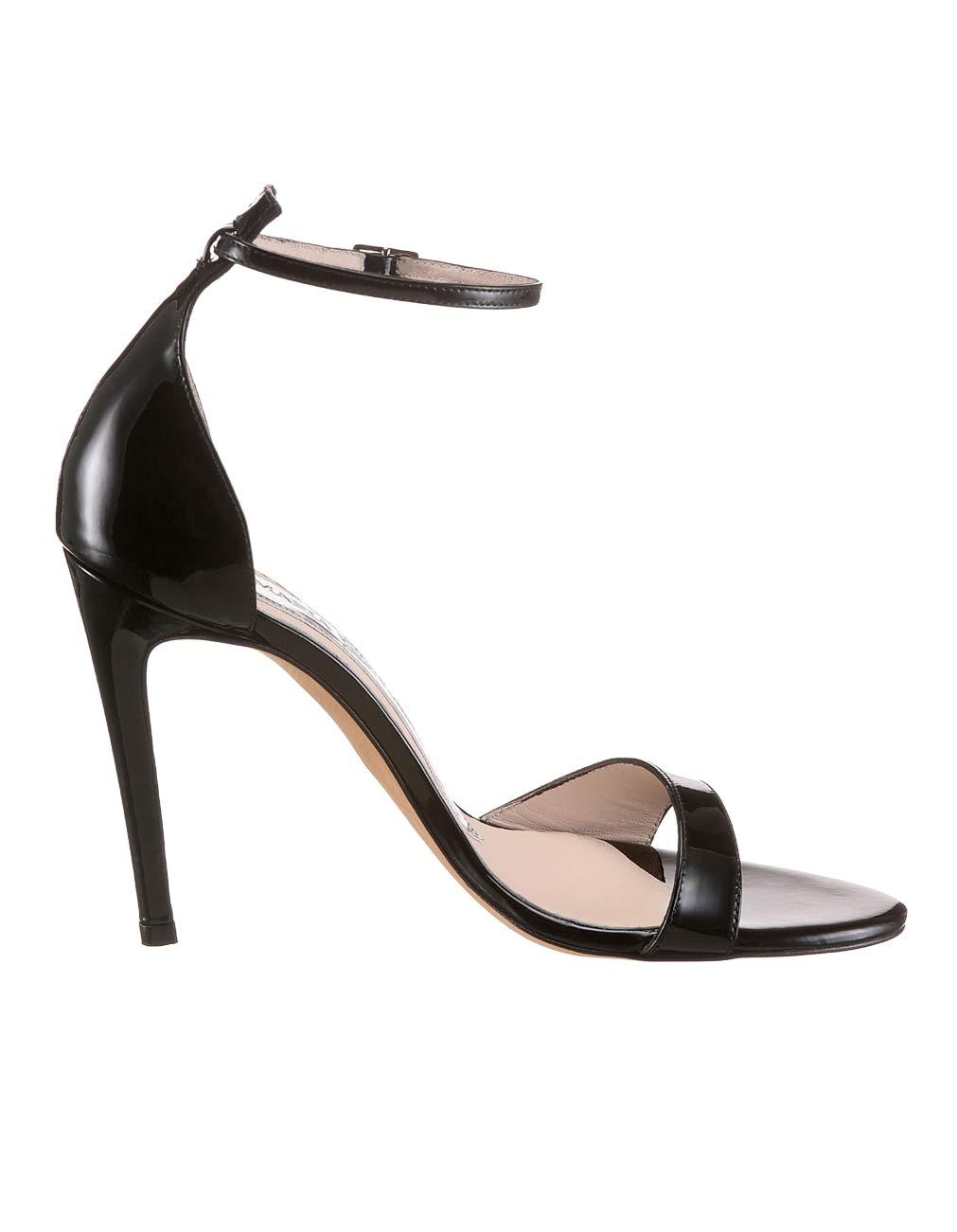gelbes Sommerkleid - schwarze Schuhe passen perfekt