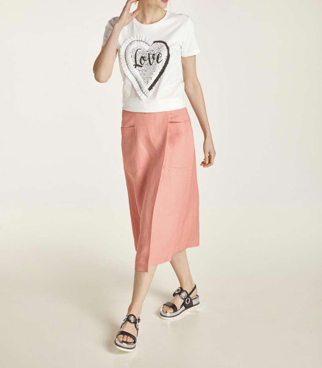 179.519 HEINE Damen Designer-Jerseyshirt Offwhite