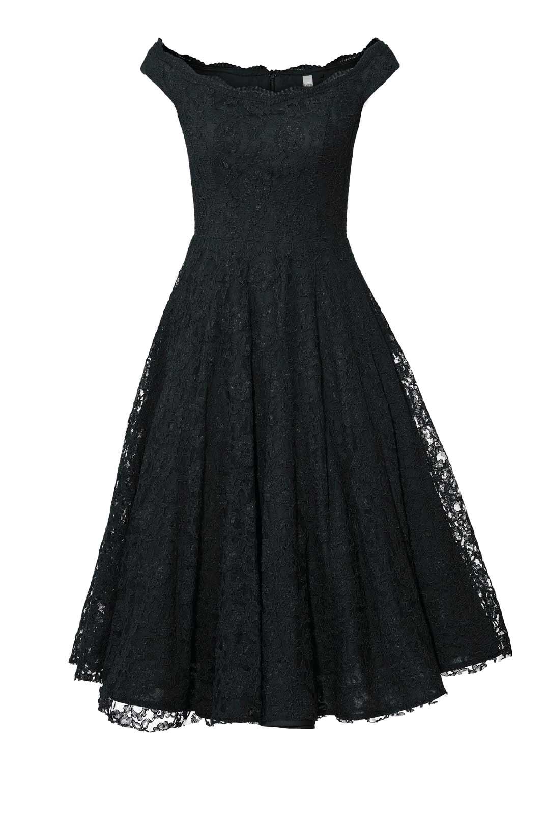 kurzes kleid für besondere anlässe Heine Cocktailkleid mit Petticoat schwarz 032.944 Missforty