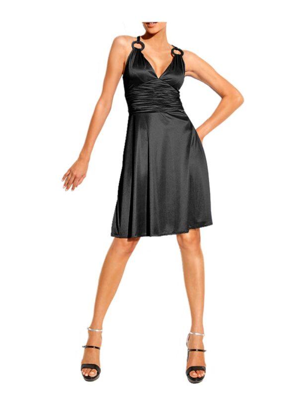 kurzes kleid für besondere anlässe HEINE Cocktailkleid schwarz 045.282 Missforty