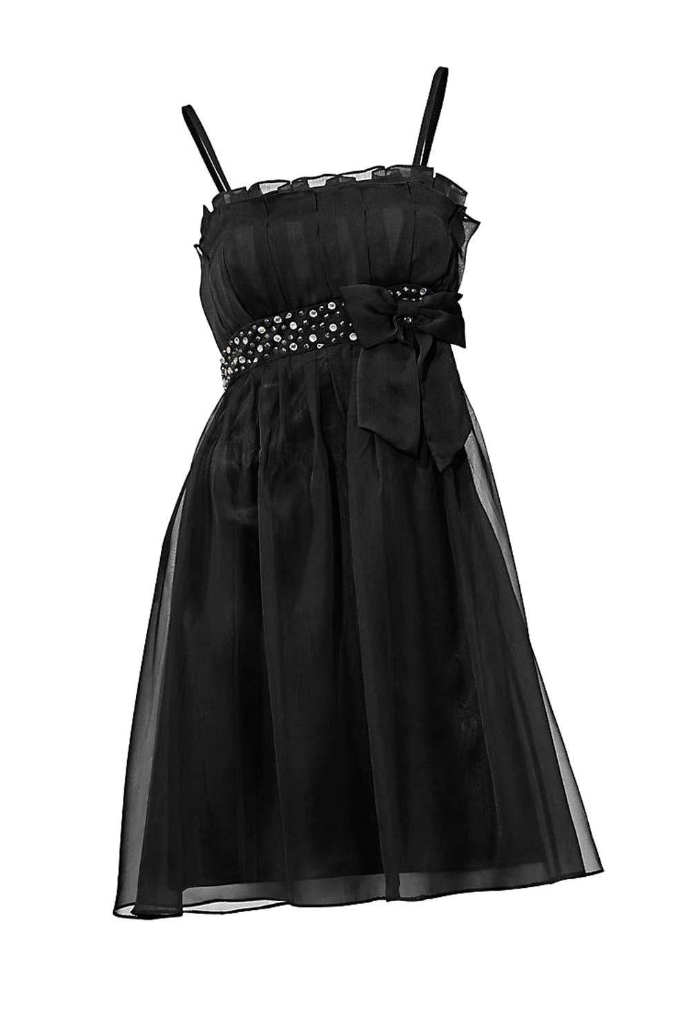 kurzes kleid für besondere anlässe Cocktailkleid m. Strass, schwarz von Ashley Brooke event Grösse 44 079.313 Missforty