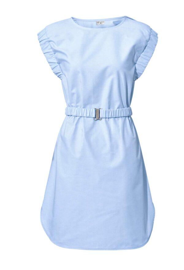 business kleider für damen RICK CARDONA Damen Designer-Etuikleid Hellblau 128.051 Missforty