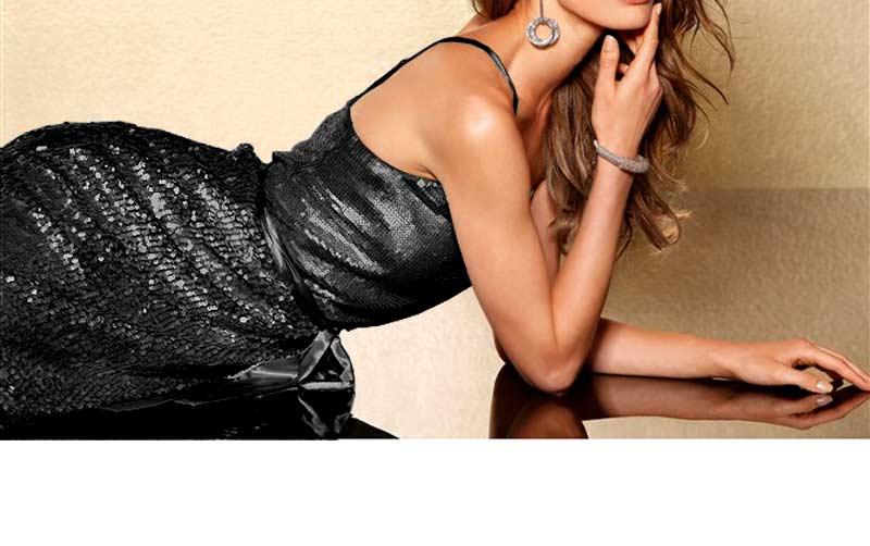 kurzes kleid für besondere anlässe Laura Scott Evening Paillettenkleid schwarz 136.969 Missforty