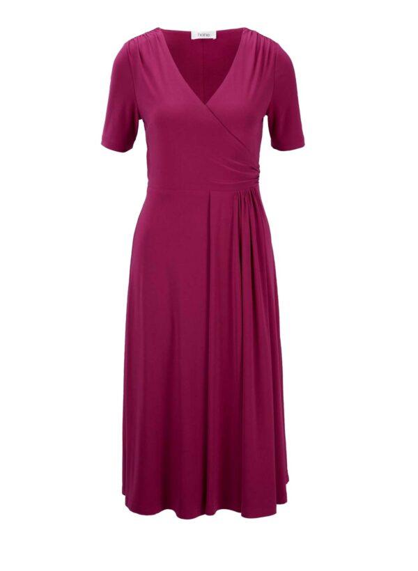 wadenlange kleider für besondere anlässe Heine Jerseykleid pink 187.525 missforty