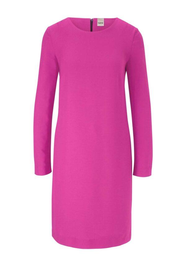 business kleider für damen HEINE Damen Etuikleid Kurz Langarm Business Elegant Himbeere Pink 232.712 Missforty