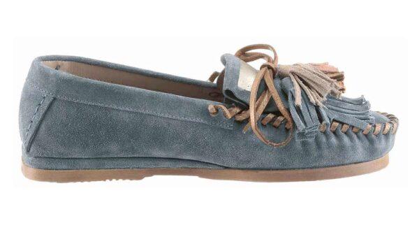 262.660 I´m walking Mokassin, grau-blau