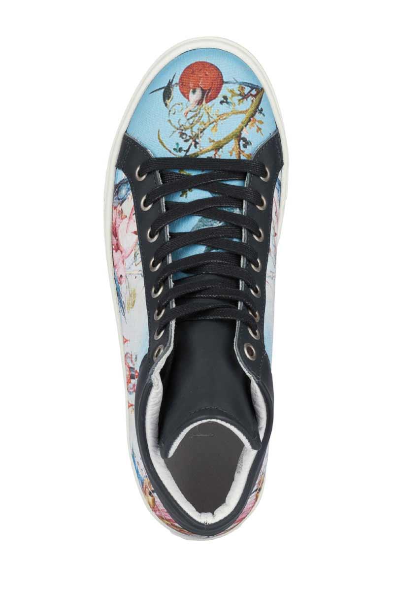 bequeme Schuhe HEINE Sneaker, blau-bunt 341.286 Missforty.