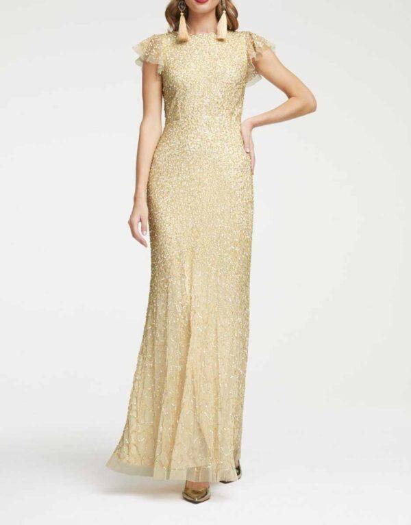abendkleider in übergrößen Abendkleid mit Pailletten 457.221 Missforty