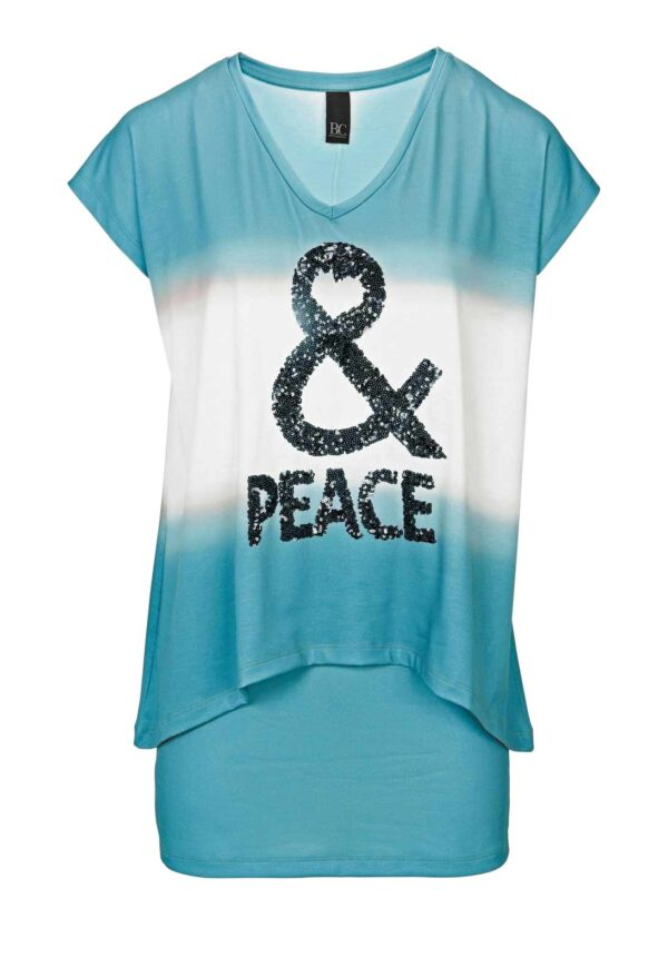 596.272 HEINE - Best Connections 2-in-1-Shirt m. Pailletten, türkis