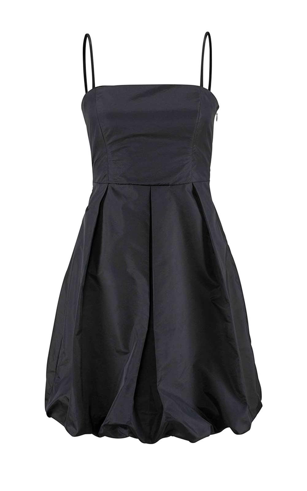 kurzes kleid für besondere anlässe BRUNO BANANI Damen-Cocktailkleid Schwarz 670.035 Missforty