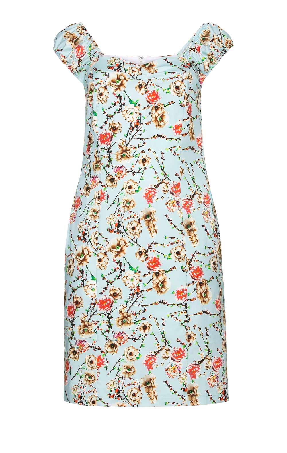 business kleider für damen JOE BROWNS Damen-Etuikleid Bunt 678.943 Missforty