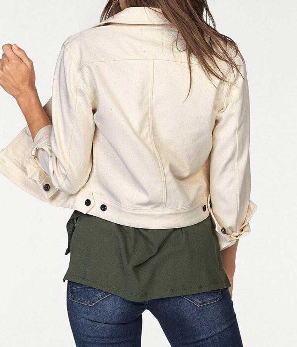 jacken auf rechnung bestellen als neukunde G-STAR RAW Damen Jacke Marken-Jeansjacke Kurzjacke Denim Übergangsjacke hell 934.837 MISSFORTY