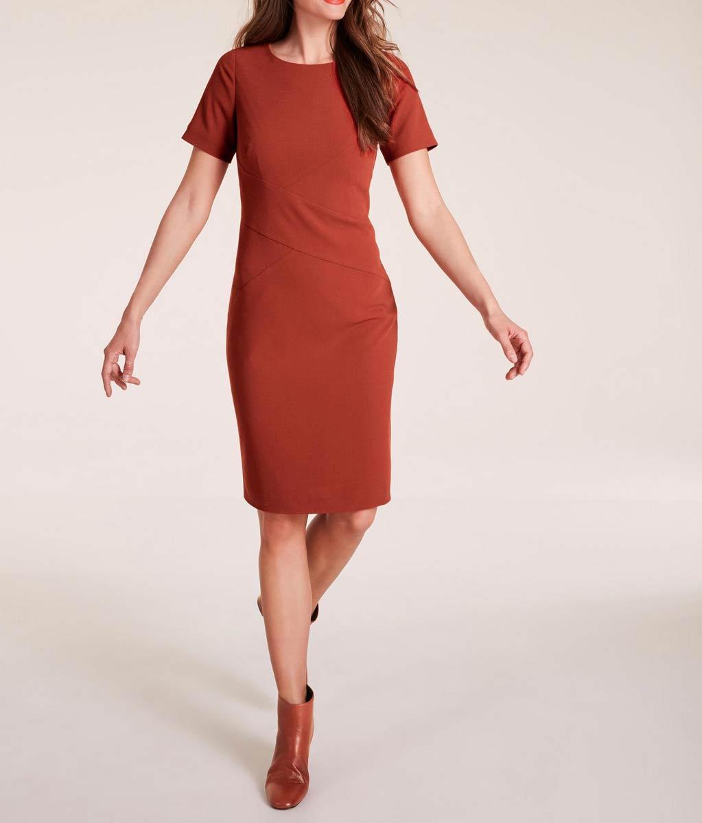 business kleider für damen Ashley BrookeEtuikleid rostbraun 999.498 Missforty