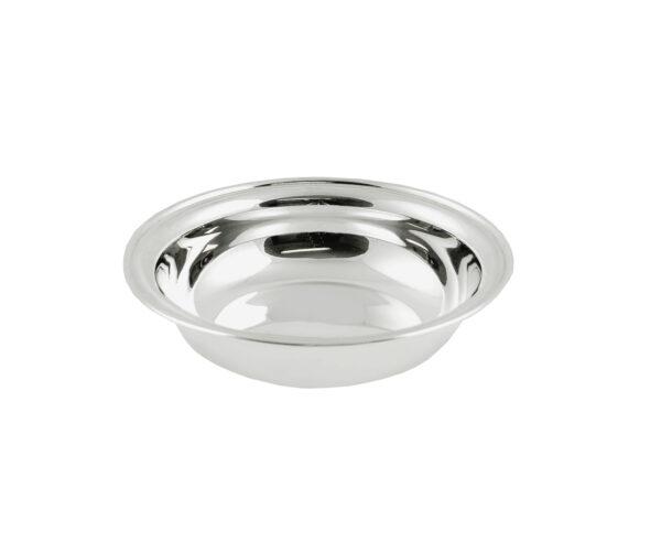 1032 Obstschale Silberschale Deko Dekoschale moderne Tischdeko Servierschalen