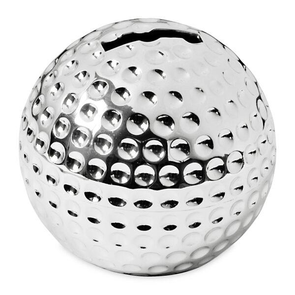 nützliche geschenke für männer Golfball Golfer Spardose Sparbüchse Silber f. Kleingeld Vatertag Geschenk Idee 2490 Missforty