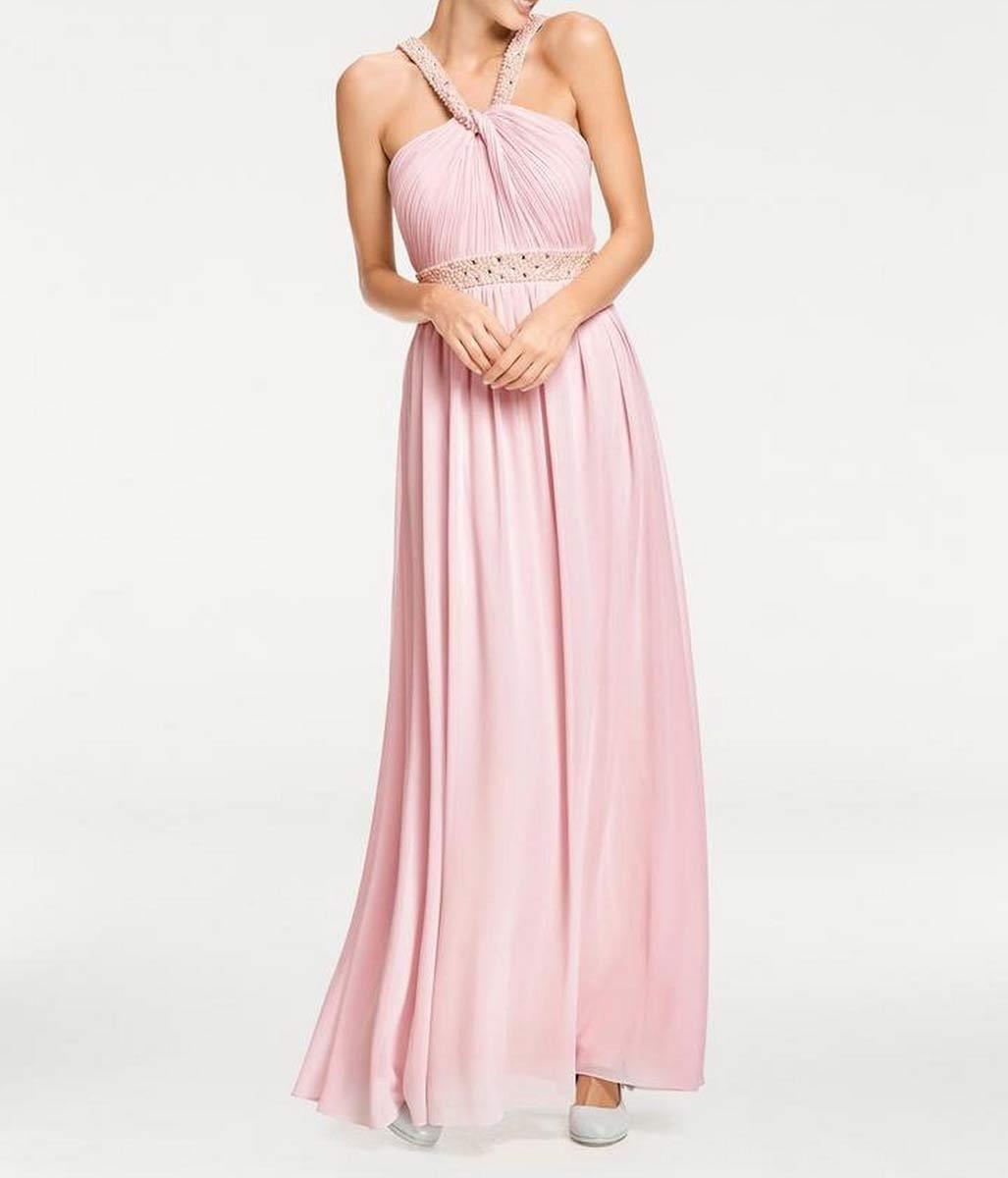 Festmoden Ashley Brooke Abendkleid lang, rosé 058.363 058.363 Missforty