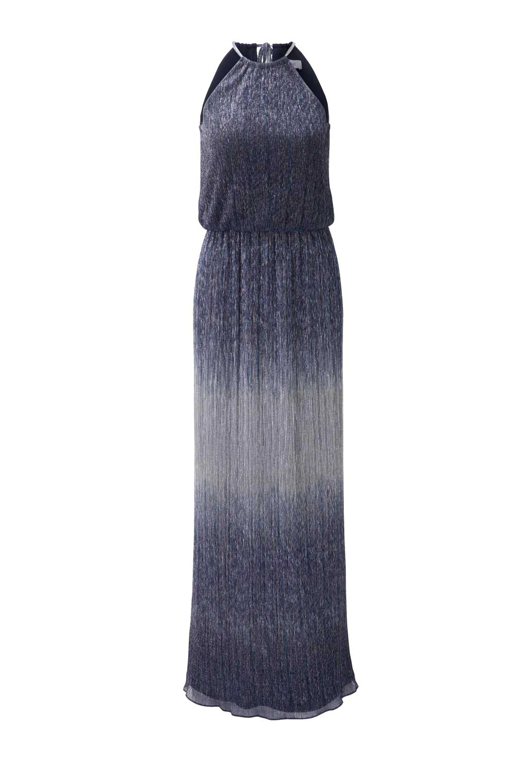 Festmoden Heine Abendkleid lang, blau 252.099a 252.099a Missforty