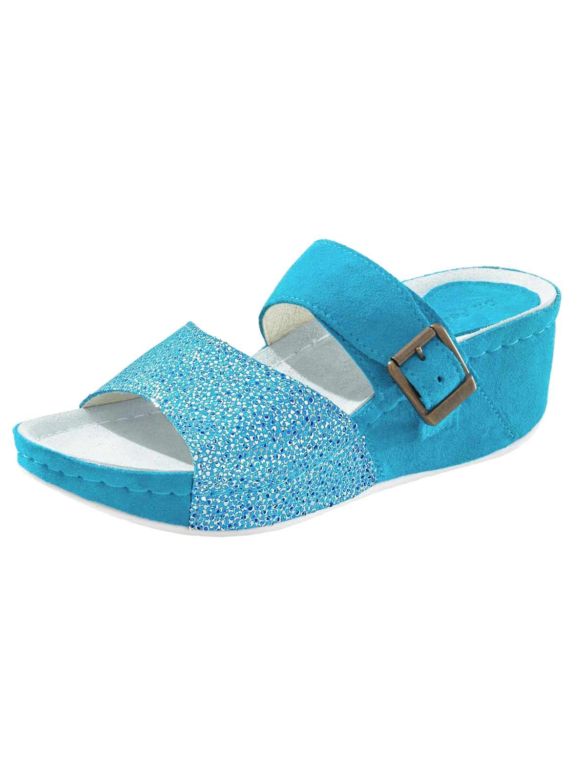 274.752 Dr. Feet Hausschuh, blau