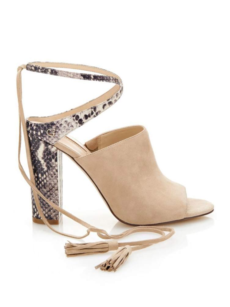 Guess High Heels Elicha, beige 290.304 Missforty