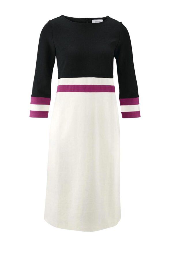 wadenlange kleider für besondere anlässe Heine Kleid, schwarz-weiß 525.002 525.002 missforty