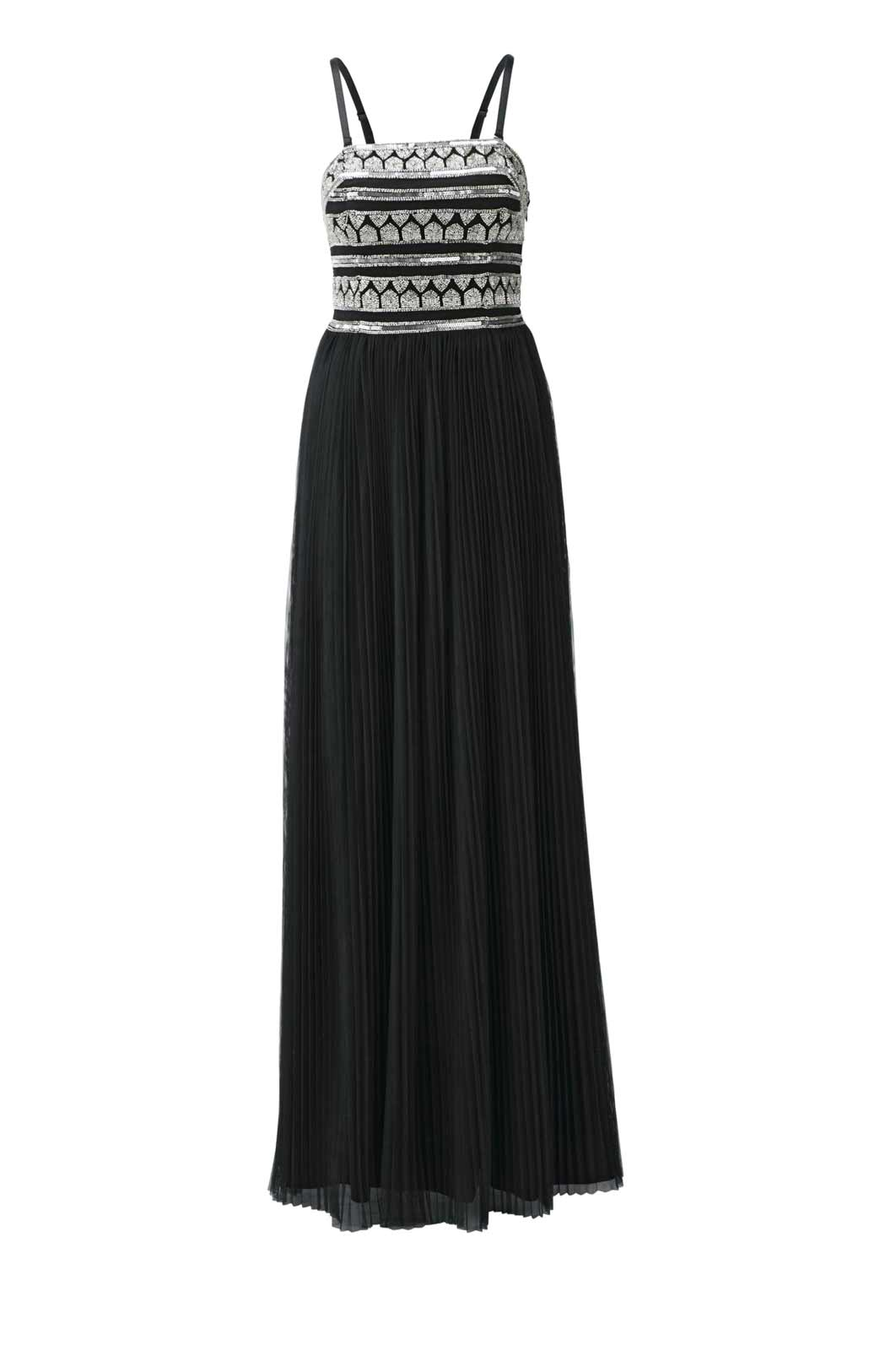 Festmoden Heine Abendkleid lang, schwarz 599.550 Missforty