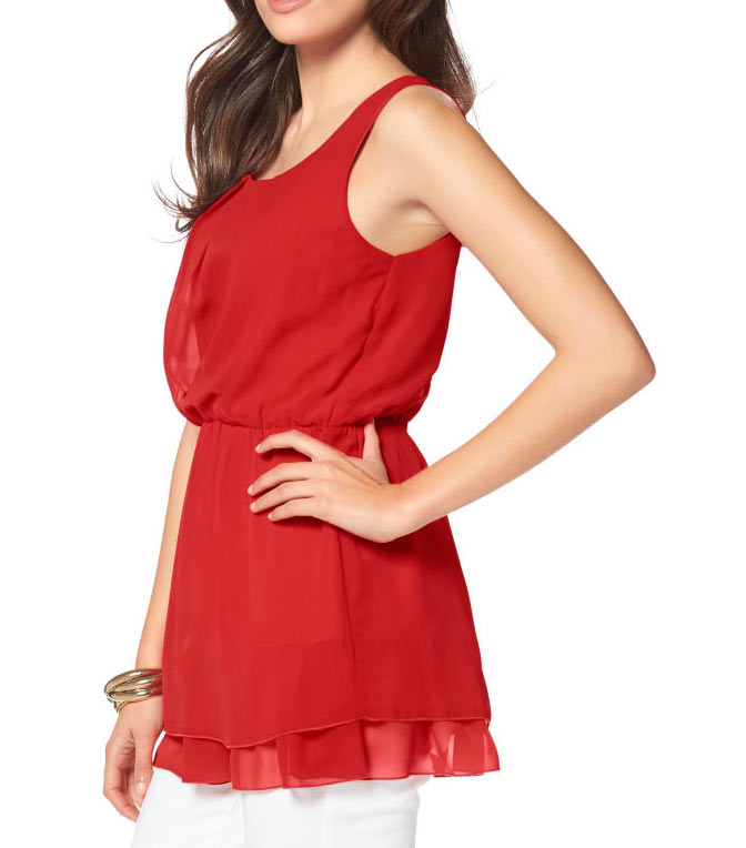 Vivance Collection Top, rot 706.421 Missforty