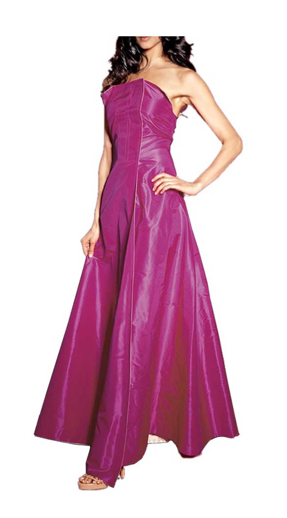 Festmoden Sibilla Pavenstedt for APART Abendkleid lang, apricot-pink 747.267 747.267 Missforty