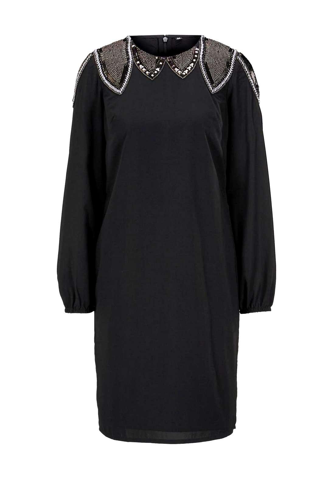 kurzes kleid für besondere anlässe Heine Cocktailkleid mit Perlen, schwarz 775.158 Missforty