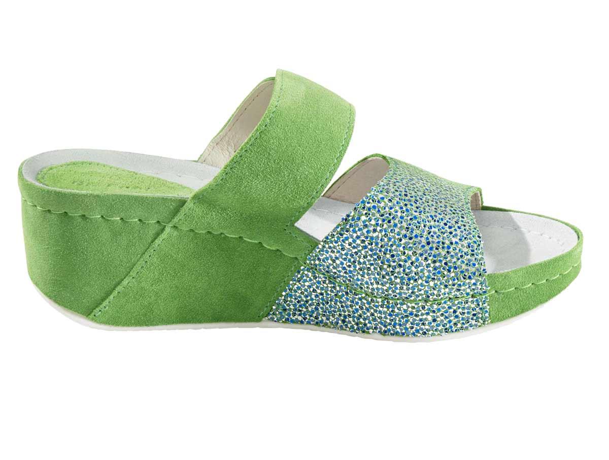 823.113 Dr. Feet Hausschuh, grün
