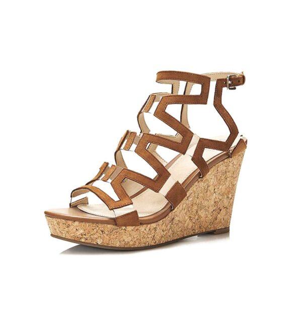 Guess High Heels mit Keilabsatz, braun 854.261 Missforty