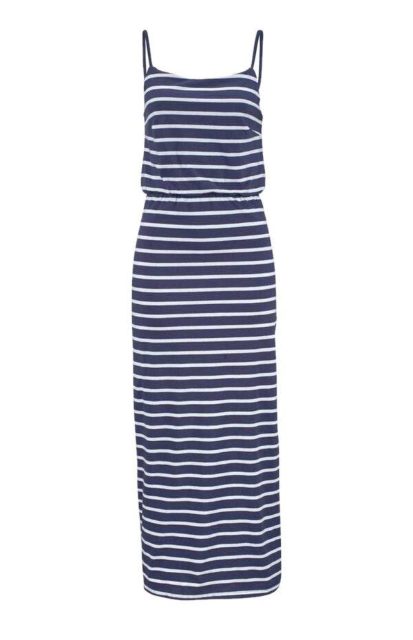 Aniston Maxikleid, blau-weiß 893.111 missforty