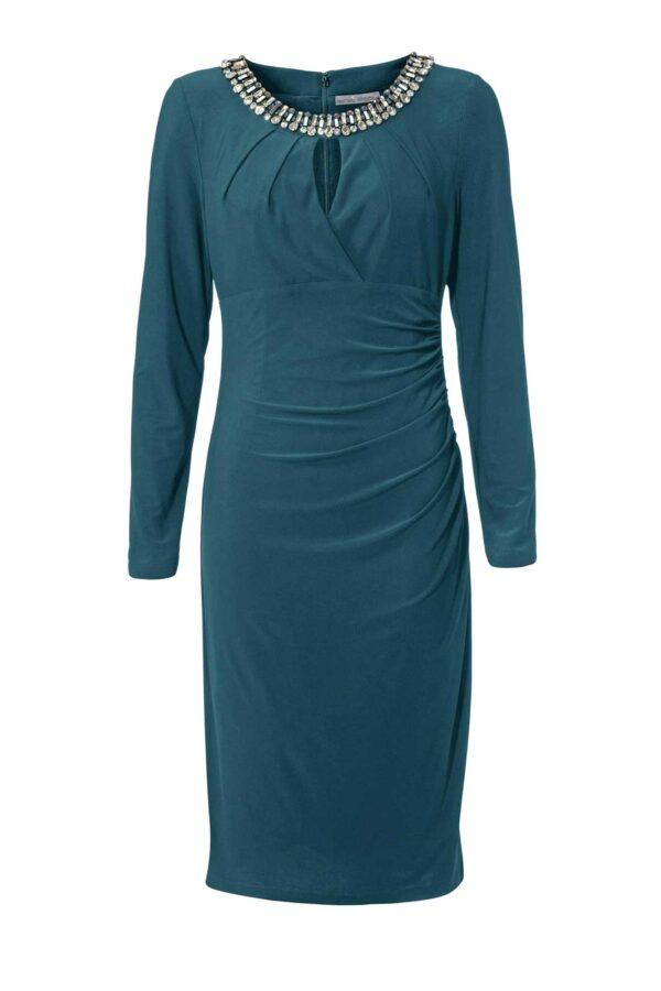 Ashley Brooke Abendkleid kurz, smaragd 069.577 Missforty.de