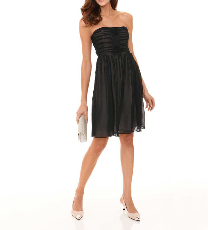 Ashley Brooke event Abendkleid kurz, schwarz 093.472 Missforty.de