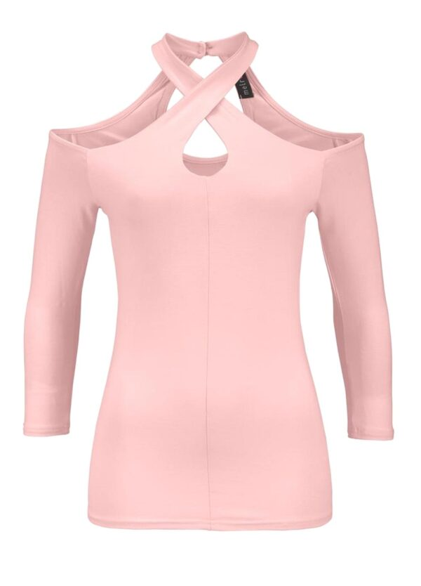 467.155 MELROSE Damen-Cut-Out-Shirt Rosé